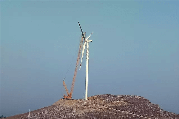 XCMG crawler crane working for wind electric construction