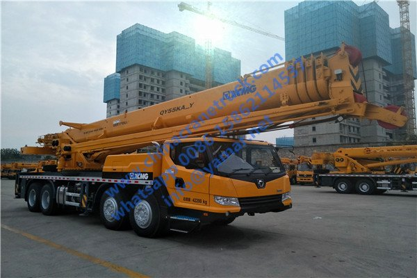 XCMG 55 ton right hand drive truck crane
