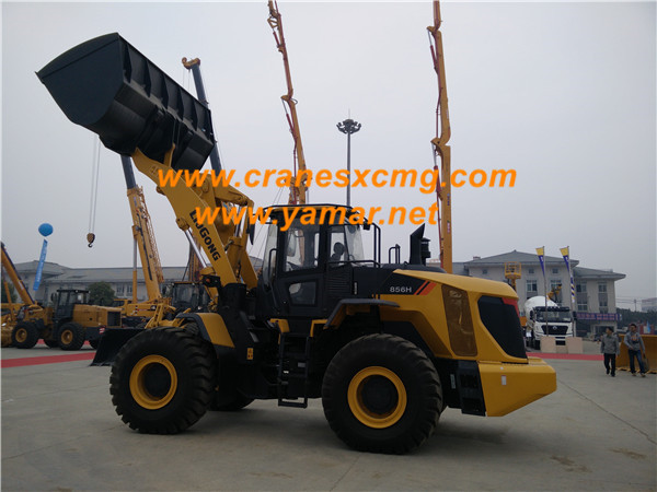 Liugong 8 ton wheel loader