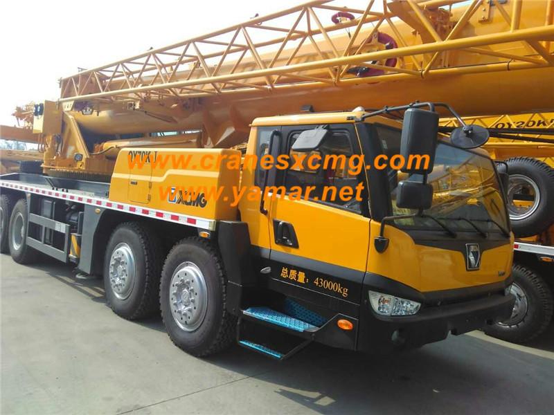XCMG QY70K-I truck crane (2)
