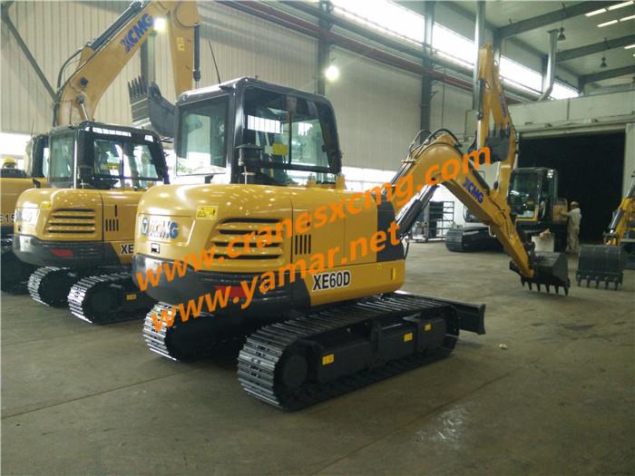 XCMG XE60D excavator