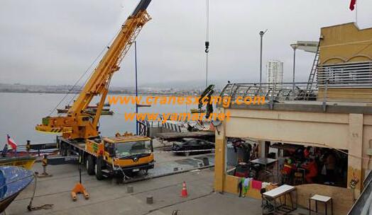 XCMG truck crane Chile