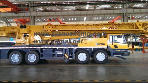 XCMG truck crane model QY50KA price