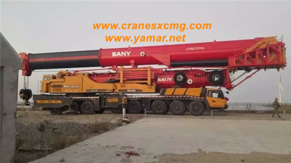 SANY SCC1020 truck crane special for wind power station-1