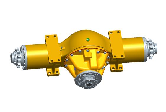 XCMG roller axle