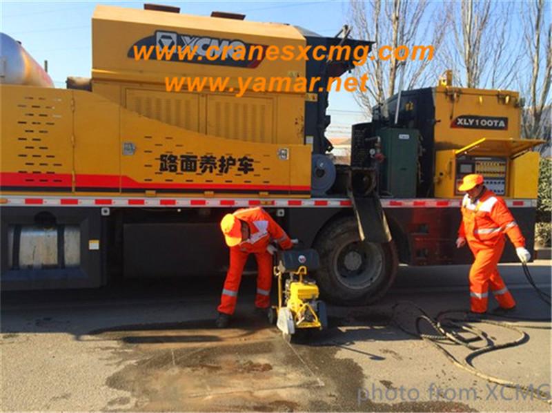 XCMG road maintenance
