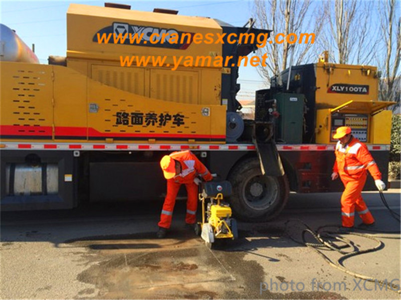 Xuzhou city held competition of road maintenance