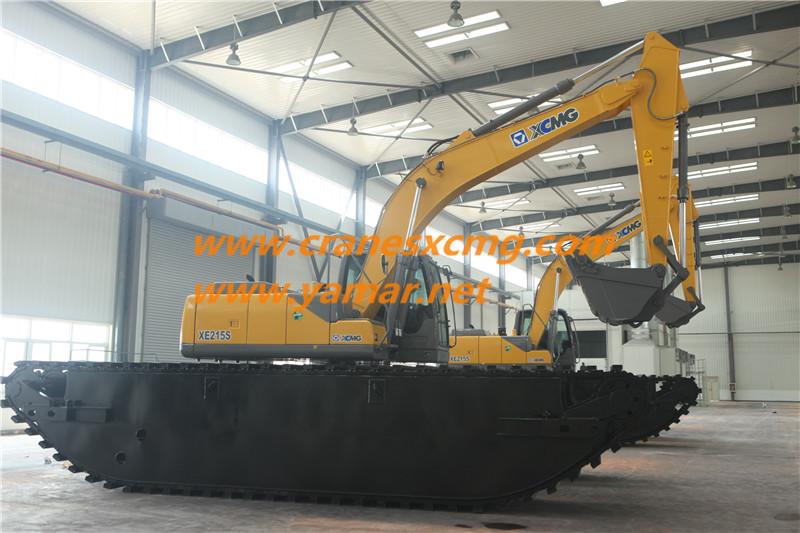 XCMG Amphibious Excavator (1)