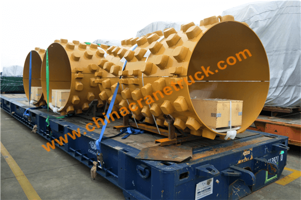 Customer order XCMG road roller PD drum from us