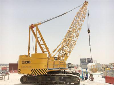 XCMG crawler crane in Qatar