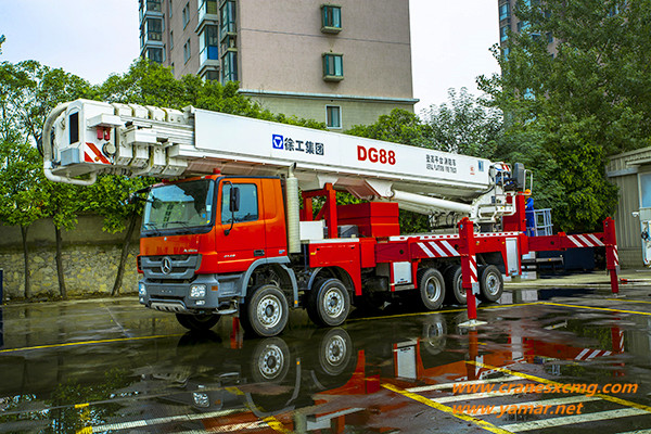 XCMG fire fighting truck