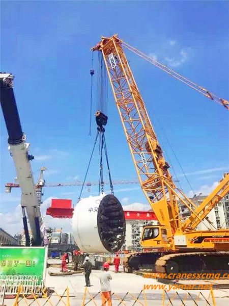 XCMG 400 ton crawler crane