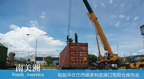 XCMG truck cranes in South America (5)