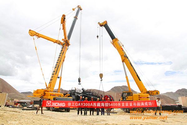 XCMG QAY300A all terrain crane