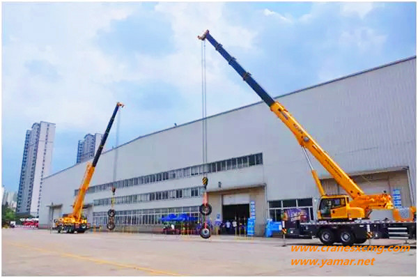XCMG G generation truck crane