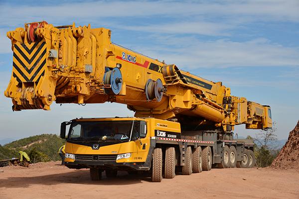 XCMG all terrain crane XCA5000