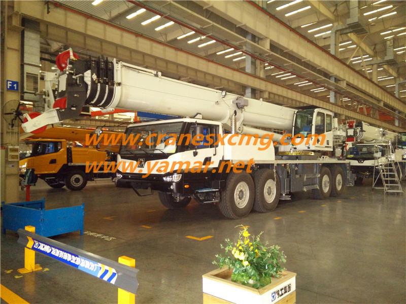 XCMG BR850 truck crane for Brazil